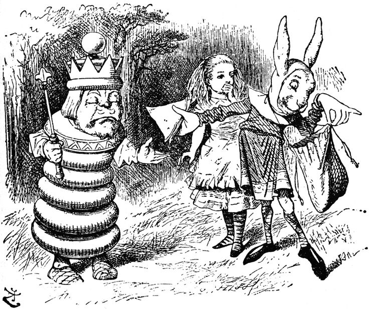 Pictures from Through the Looking Glass - Alice-in-Wonderland.net