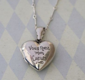 engraved Heart Locket hint hint stephen ;)