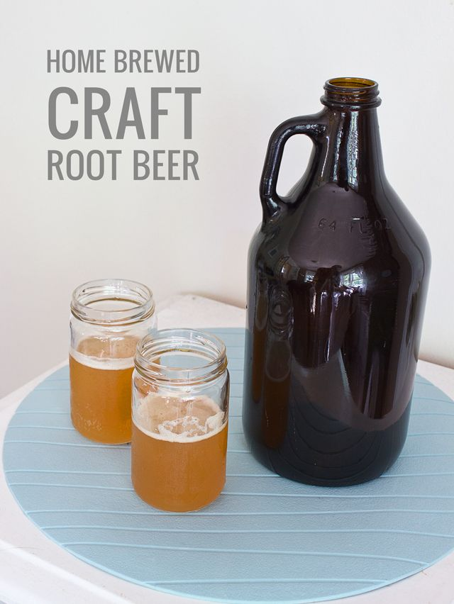 DIY Craft Root Beer Recipe | Recipes I'd Like To Try | Pinterest