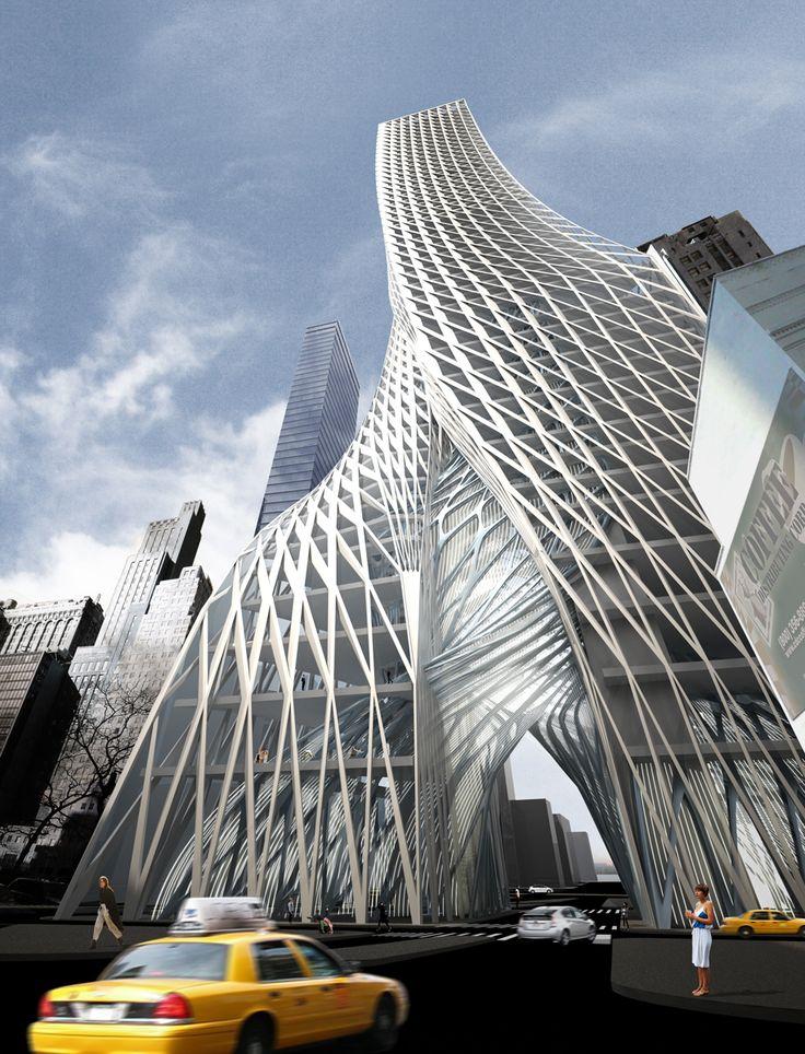 Едгар Стрийт Towers в NYC от IwamotoScott - Arch2O: Едгар Стрийт Towers в NYC от IwamotoScott - Arch2O