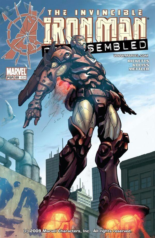 IRON MAN #434 • 2004 • Avengers Disassembled • Mark Rickets, Scott Kolins • Pat Lee