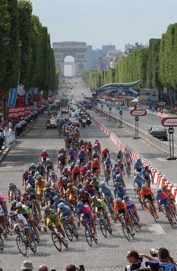 Tour De France, Champs Elysées, Paris