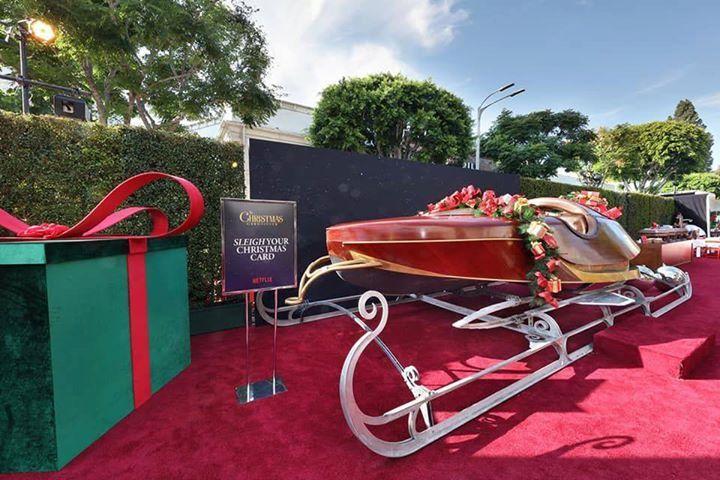 Christmas Chronicles Sleigh.Santa S Sleigh Was Found Parked On The Christmas Chronicles