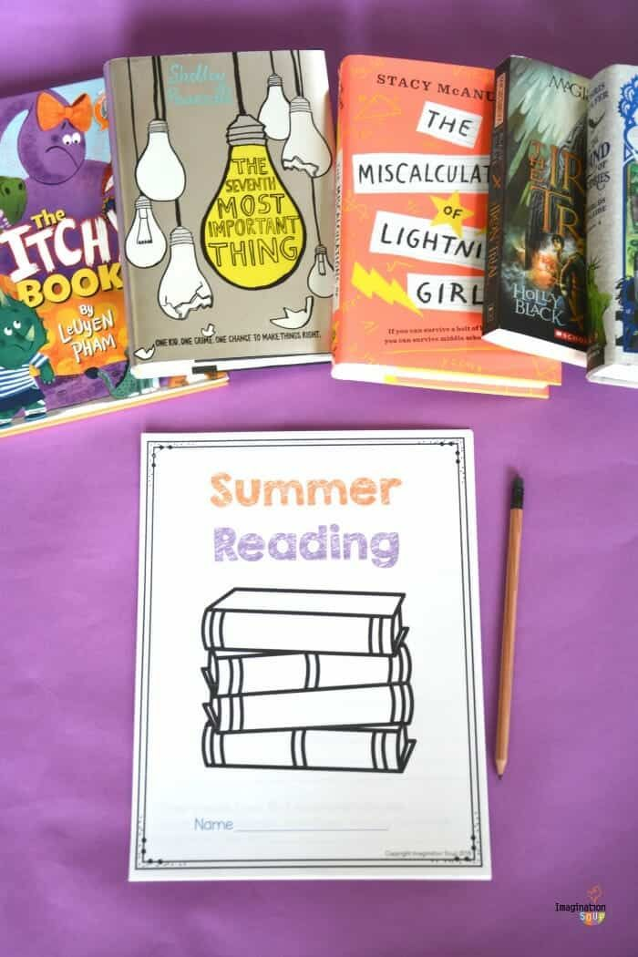 Free Summer Reading Printable Packet for Kids Ages 6 13