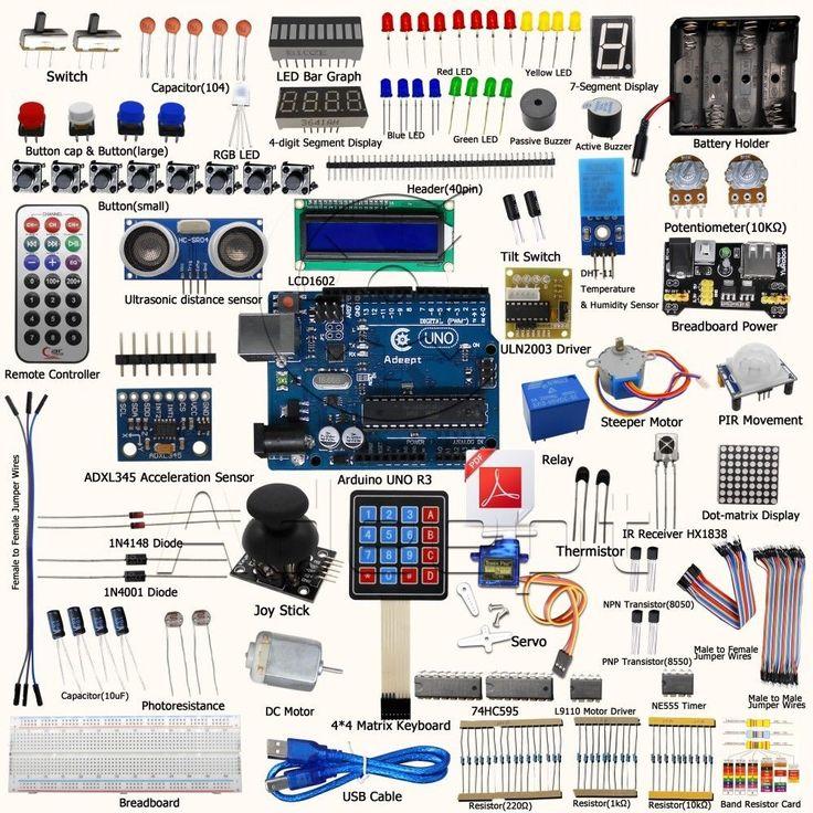 Best arduino learning kit images on pinterest