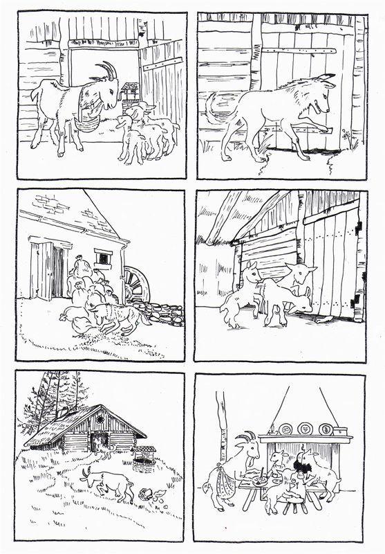 postupnosť príbehu - Kozliatka