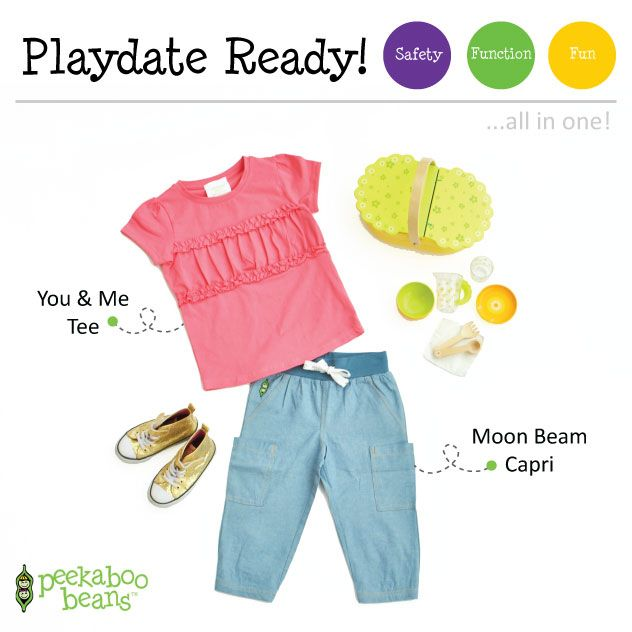 Picnic Bean| Peekaboo Beans - playwear for kids on the grow! www.peekaboobeans.com | #PBPlayfulPairings