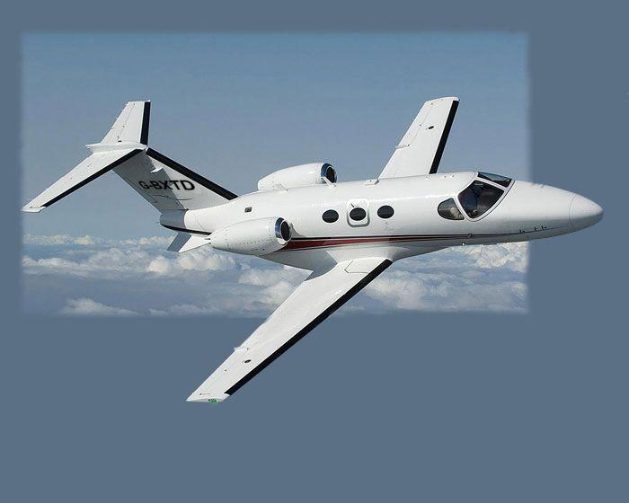 Cessna Citation Mustang Desktop Wallhanging G-BXTD