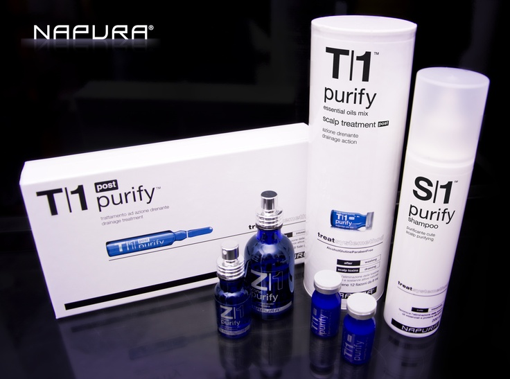 Range of hair care treatments. In different composition and packaging solutions.