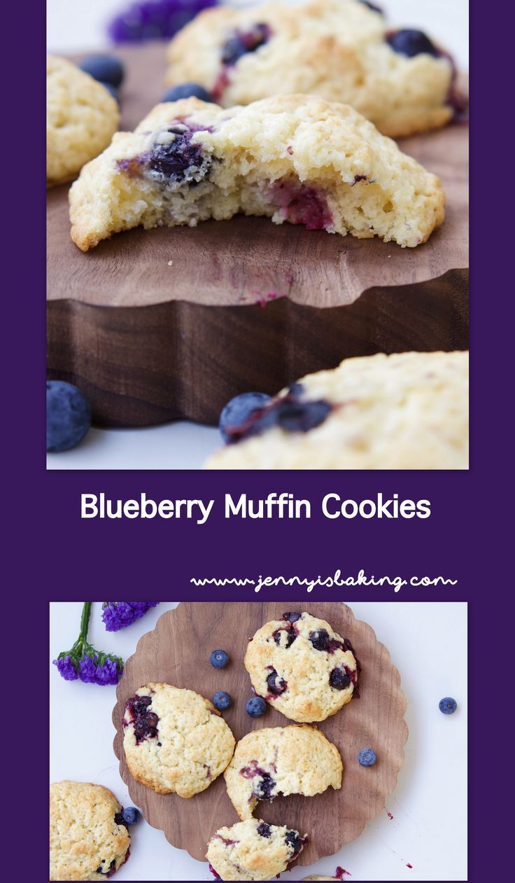 Muffins Kinder Krümelmonster Blueberry Muffin Cookies Recipe Group Board Recipes From All The
