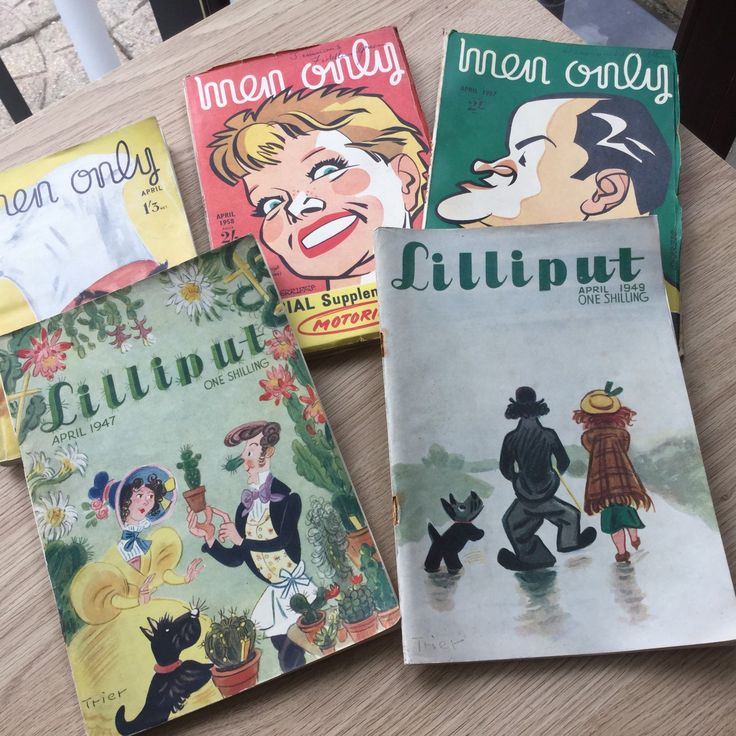 Get ready for April birthdays! April issues of vintage magazines just added to shop, including those from 1947 & 1957 - ideal 60th or 70th birthday present for the man who has everything!