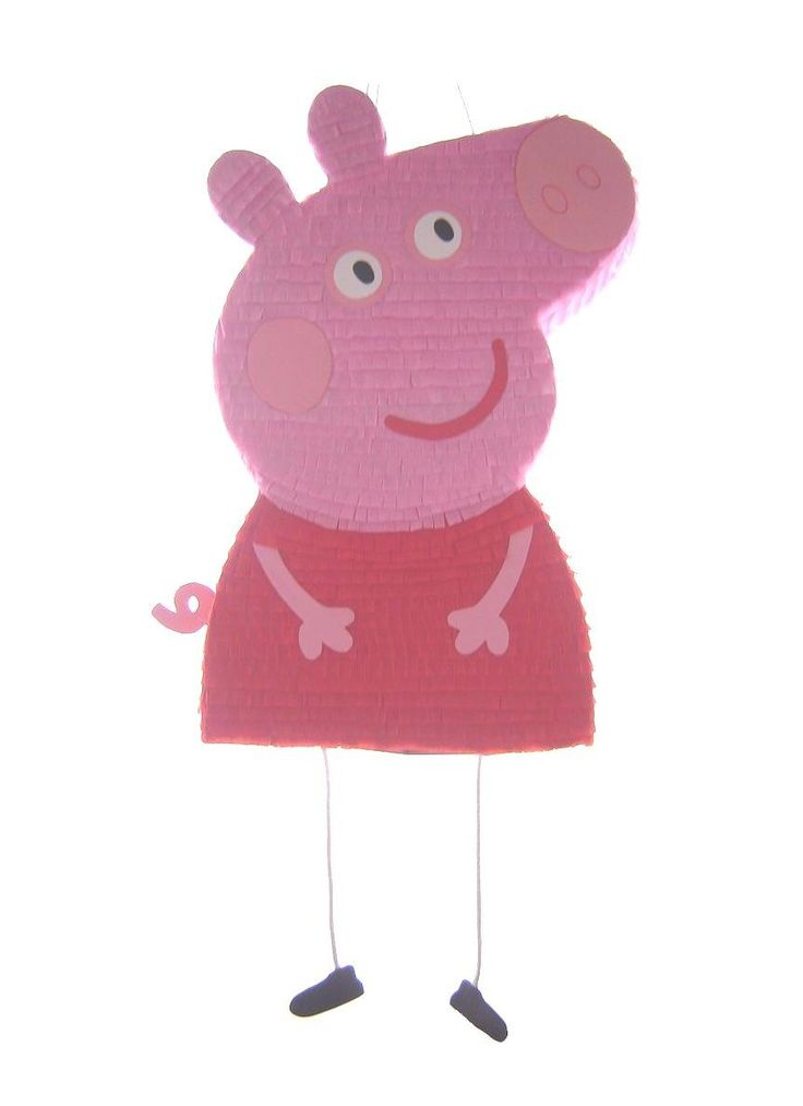 Pi atas 177760: Peppa Pig Birthday Pinata Pull String Hit Party Fiesta Piñata Games Supplies New -> BUY IT NOW ONLY: $50 on eBay!