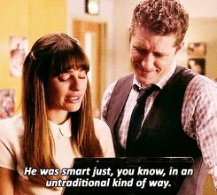 Glee - Good-bye Finn...I had only watched the first 3 seasons but decided to watch season 4 on livestream after Cory's death. I always did llike the love story of Finn & Rachel and really liked Cory as a performer, He seemed so genuine and sweet. I just grew tired of the show in general, but not Cory. I'll always remember him. What a tragic loss.