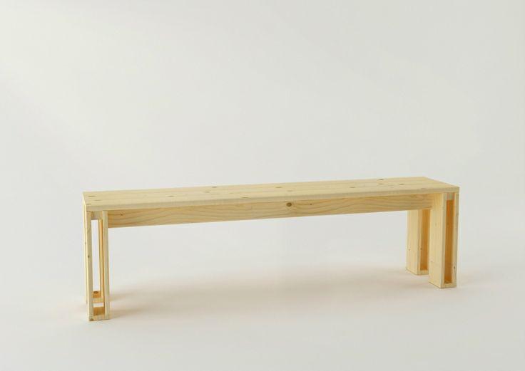En madera maciza pulida, LUFE te presenta el banco Arina, diseñada por Silvia Ceñal.  En 330 mm de fondo elige entre 450, 700, 1000, 1600 ó 2200 mm de largo. Compatible con la mesa Arina, y el perchero Cimas. Venta online en: www.muebleslufe.com #MueblesLUFE #madera#DIY #ecologico #bancos