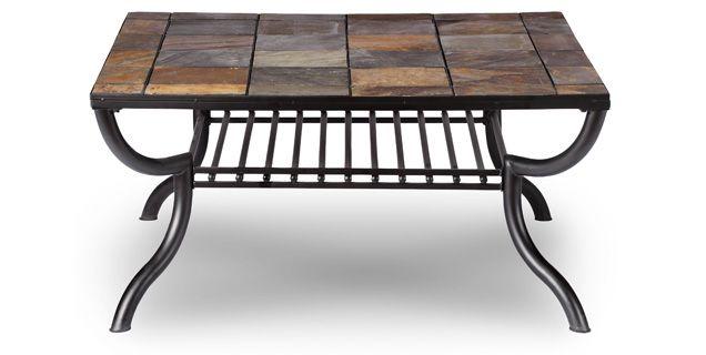Slate Coffee Table   Coffee Tables   Pinterest   Coffee, Stone Coffee Table  And Slate