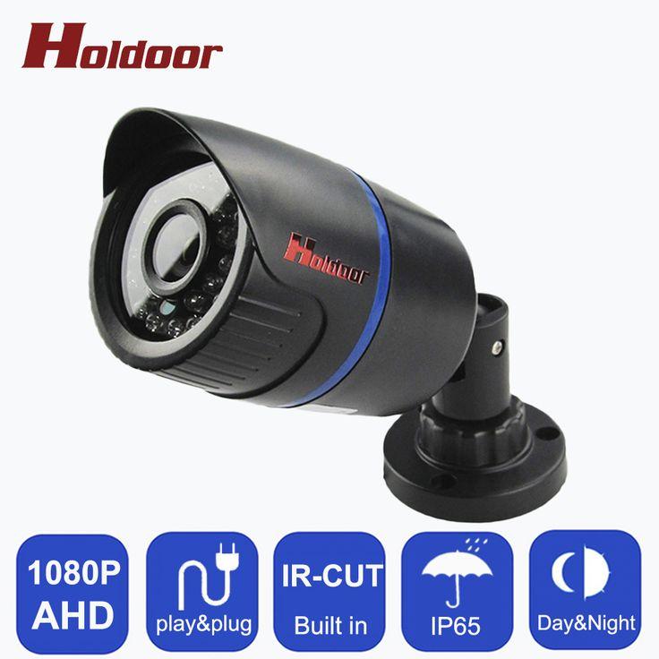 Home indoor ip66 Waterproof Bullet IR-CUT 2.0MP 1080P AHD Camera 24 IR Night Vision AHD CCTV Camera for home surveillance system