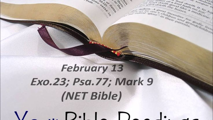 Your Bible Readings for February 13