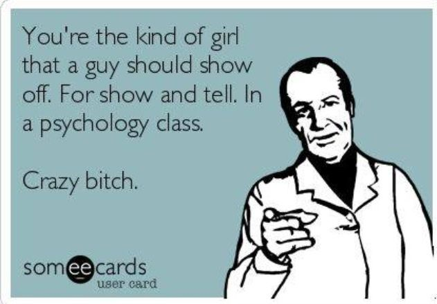 baha we all know that one girl... and if you dont know her, chances are its probably you! lmao