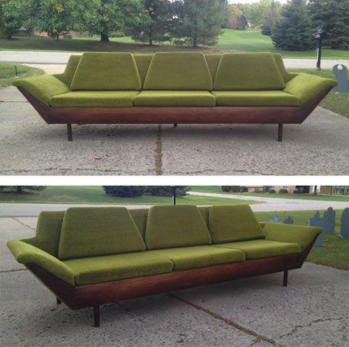 Flexsteel Sofa Vintage