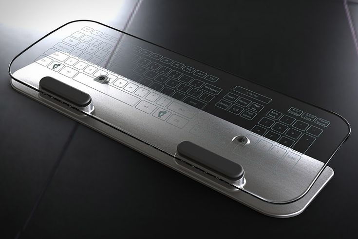 Glass Multi-Touch Keyboard & Mouse makes input a see-through experience | Digital Trends