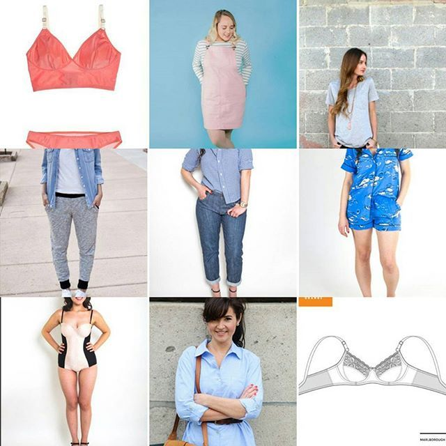 I'm probably a bit late to the #2017makenine organised by the lovely @rochelle_new - but am super excited about sewing this year. ▶ I'll probably want to add a billion more things to this list, but for now I'm looking at simple basics and some challenging makes - guess which ones are which 😜? ▶ Top row: Watson bra, Cleo dungaree dress, Seamly co tee Middle row: Hudson pants, Morgan jeans, Carolyn pjs Bottom row: Sophie swimsuit, Alex shirt, Marlborough bra ▶ You can read more on the blog…