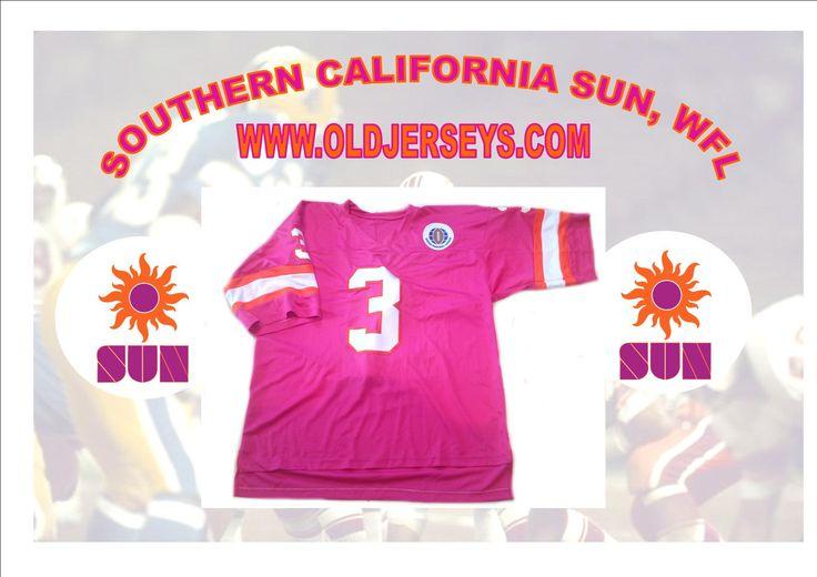 Southern California Sun Replica Football Jersey (World Football League)