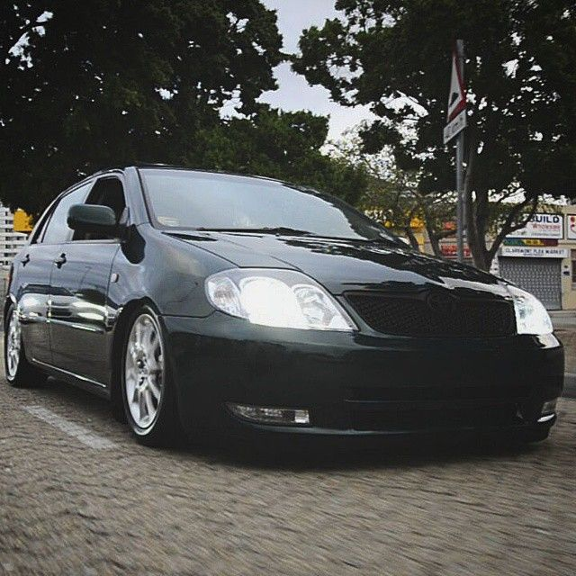 # Rollingshot # nonumberplate # flused # bumper # toyota # runx # rsi # airsuspension # keepitclean #