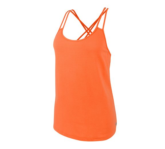 Running Bare's Black Widow Workout Tank is now available in the fresh new Spring/Summer colour 'Juice Bar' (orange)! Shop online today at onsport.com.au - $57.95