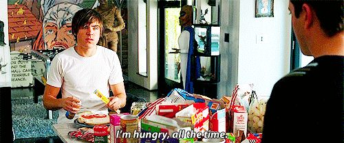 Also, you're always hungry. Like ALWAYS. | 31 Struggles That Every Teenager Will Understand