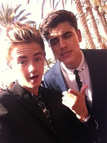 Jack and Jack at our #TeenChoiceAwards selfie cam