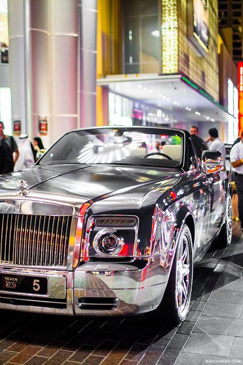 watchanish: shiny car      Rolls Royce Phantom Coupe