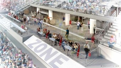 Texas Motor Speedway to Construct Restart Bar Zone Club In Anticipation of April's NASCAR Event