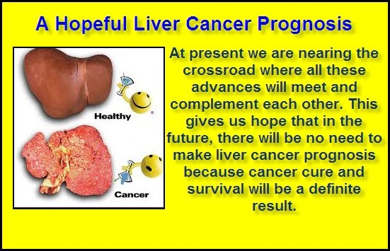 The Liver Cancer Prognosis rate is rather low, because the disease can go undetected for some time before indications of the cancer surface. The mean age of diagnosis is at 60 years and more than half of patients are men