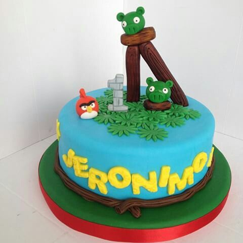 1000 images about angry birds on pinterest decorating for Angry birds cake decoration kit