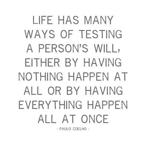 tests: Life, Inspiration, Quotes, Truth, Paulo Coelho, Thought, So True