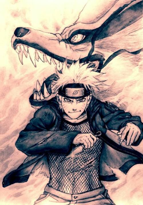 Naruto  I love the karama and naruto pics they are always awesome