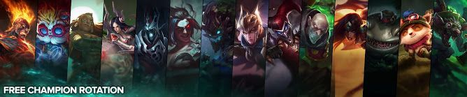 cool Free Champion Rotation, Week of August 8th