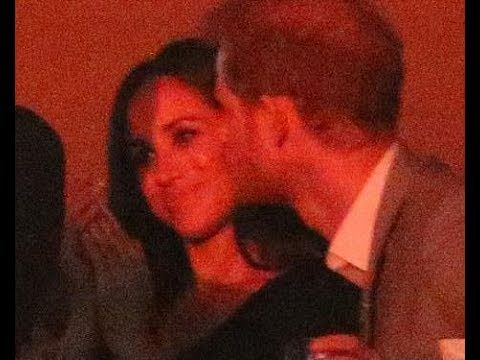 Meghan Markle gets a kiss from her Prince in VIP box at Invictus Games c...