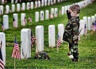 This is so adorable. At least someone is showing respect to our troops.
