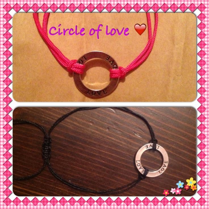 Circle of love bracelet  Just £3.99 Www.sparklesbysam.co.uk