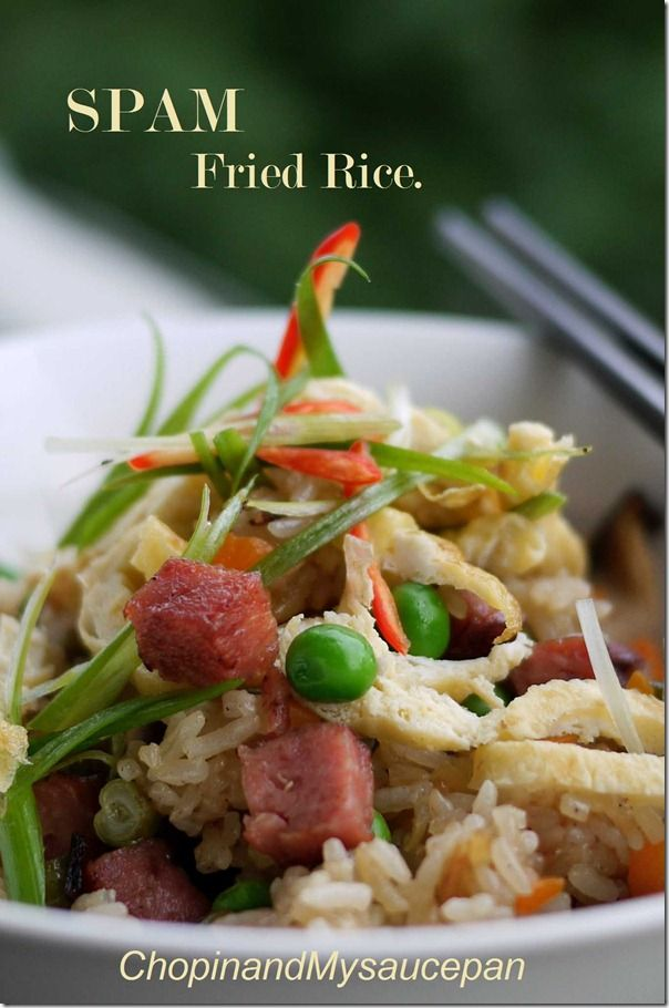 ... Favorite on Pinterest | Spam recipes, Spam musubi and Spam fried rice