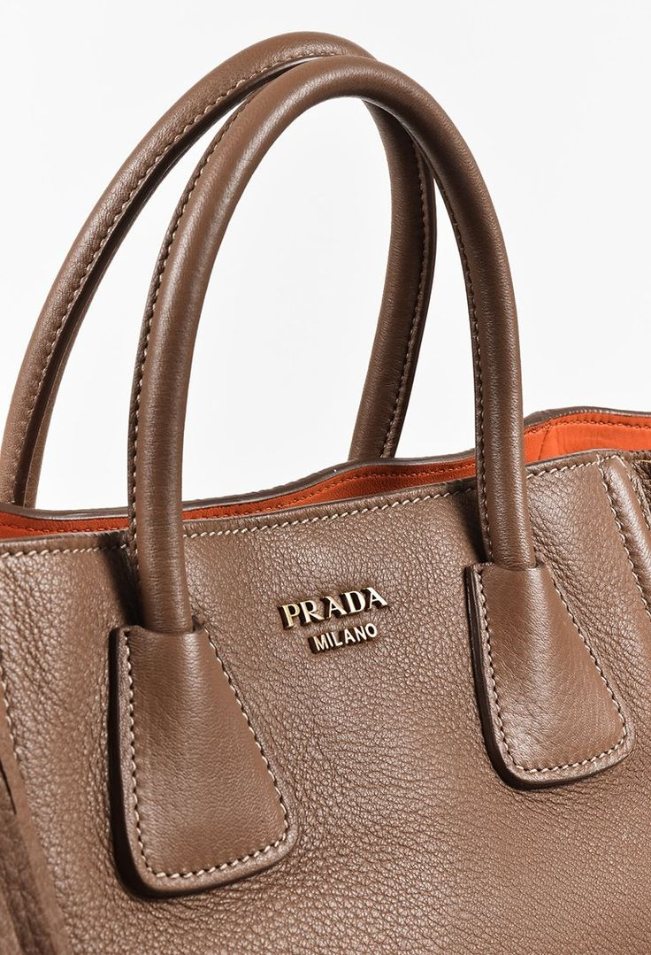 "Prada ""Cammello"" Brown Pebbled Deerskin Leather Fringed Tote Bag - ""#Womens #Clothing #Dresses #Celebrity #Clubwear#womensfashion #brands #beautiful #save4save #designer #Dolcegabbana #Prom  #stylish #ootd #linkinprofile #eveningwear #party #Prada #Oscardelarente"""