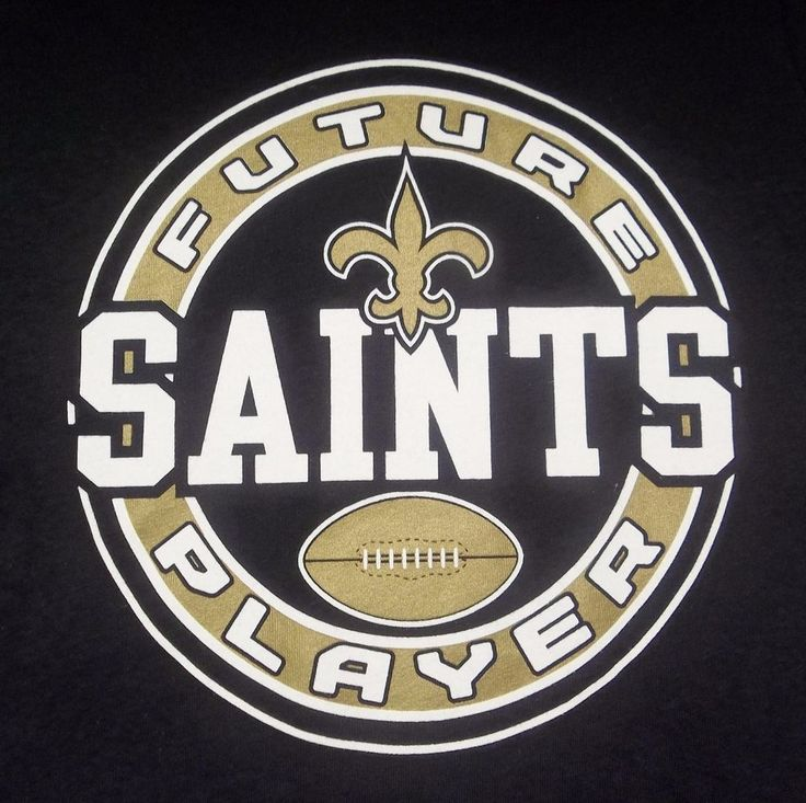 Future New Orleans Saints Player Long Sleeve T-Shirt 12 Months Size New NFL #NFL #NewOrleansSaints