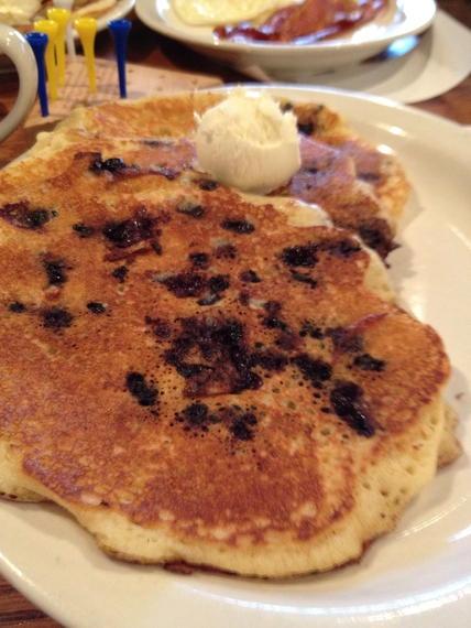 Cracker Barrel Blueberry Pancakes
