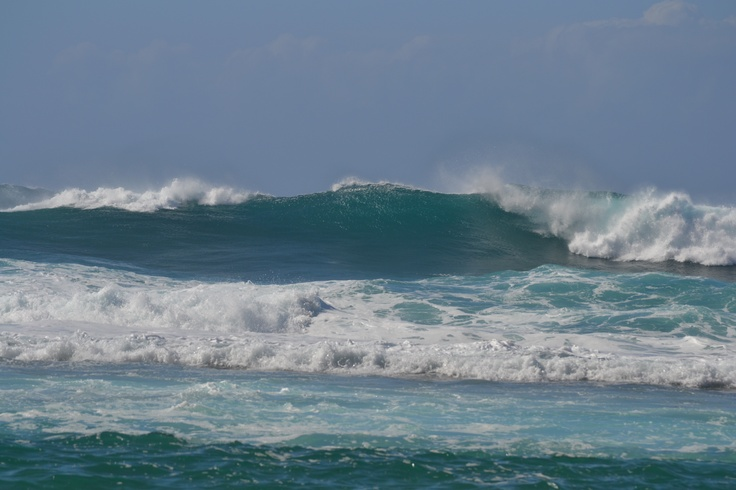 Just a few waves....Kilauea, HI - North Kauai.