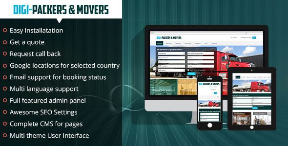 The Digi Packers and Movers is a platform that enables all kinds of packing and moving will be done...