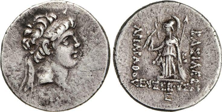 NumisBids: Numismatica Varesi s.a.s. Auction 65, Lot 19 : CAPPADOCIA - ARIARATHES V (163-130 a.C.) Dracma. D/ Testa...