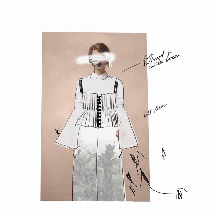 """KIRSE on Instagram: """"#sketchbook #procreate #fashionillustration"""""""