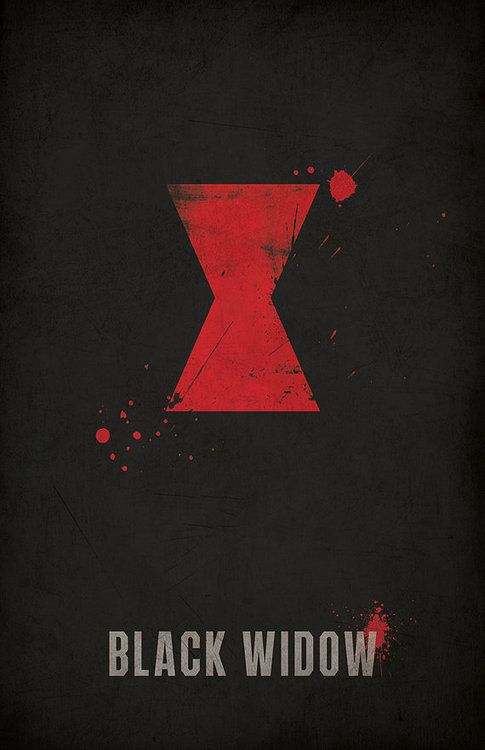 Black Widow Minimlist Poster - West Graphics