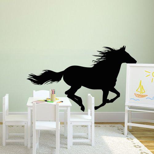 1000 ideen zu wandtattoo pferd auf pinterest zeichnung. Black Bedroom Furniture Sets. Home Design Ideas